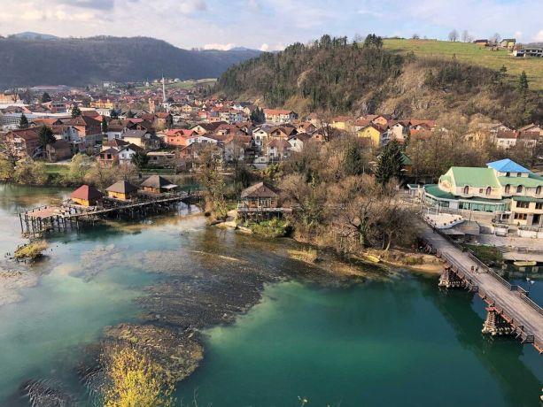 Bosnia & Hercegovina: A view of Bosnia and Herzegovina More Info