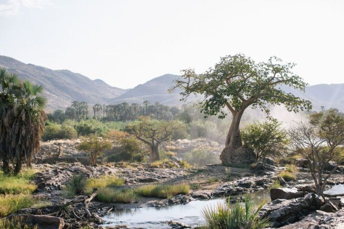 Namibia: Beautiful scenery in Namibia. Photo by Doseong Park. More Info