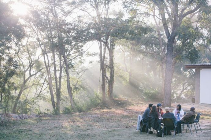 South Africa: People gathered for a Bible study in South Africa. Photo by Doseong Park. More Info