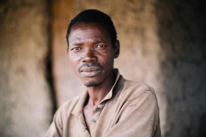 Mozambique: A man poses for a portrait in Mozambique. Photo by Doseong Park. More Info