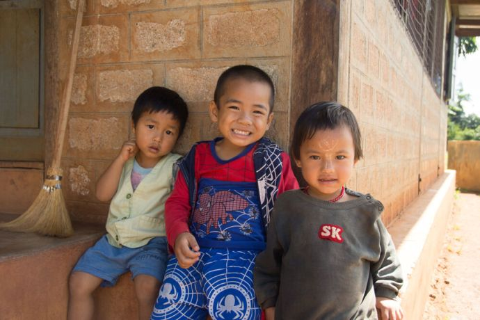 Myanmar: Children are a source of joy and life. Photo by Ellyn Schellenberg. More Info