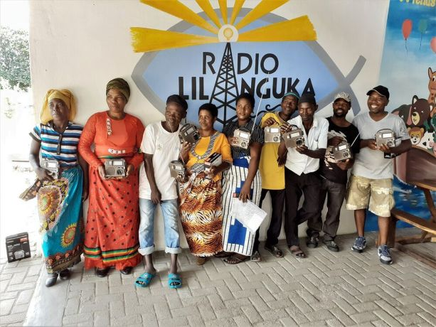 Malawi: Radio Lilanguka listeners recieve radios. On air seven days a week from 05:00-22:00 in Mangochi, Malawi, the station broadcasts a variety of shows and are dedicated to sharing the love of Christ with those who dont know Him. More Info