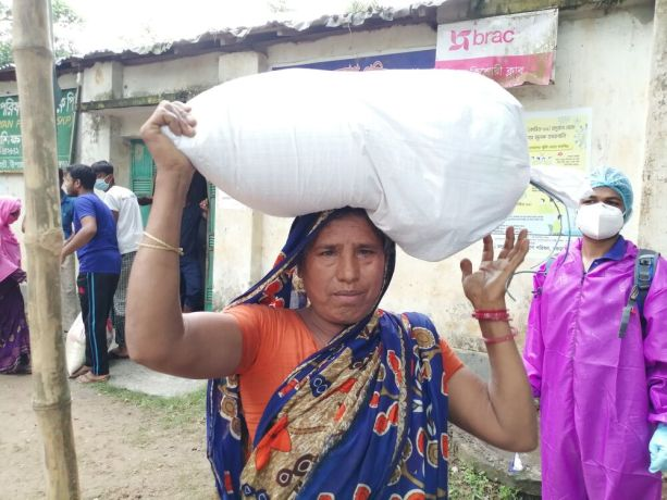 Bangladesh: In the midst of COVID-19 and flooding, OM has been distributing food and non-food items to families in need across four areas in Bangladesh. More Info