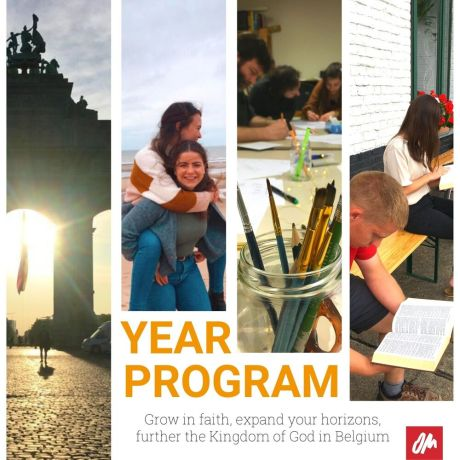 Belgium: Year program is a 12-month opportunity that consists of daily Bible study sessions, cultural experiences, fellowship, and ministry time according to personal gifts. We aim to walk alongside you and support your personal and spiritual growth as you start surrendering your life to the Lord. Its open for men and women ages 18-30 for sessions starting January or July. Pray about it; our team looks forward to welcoming you! More Info