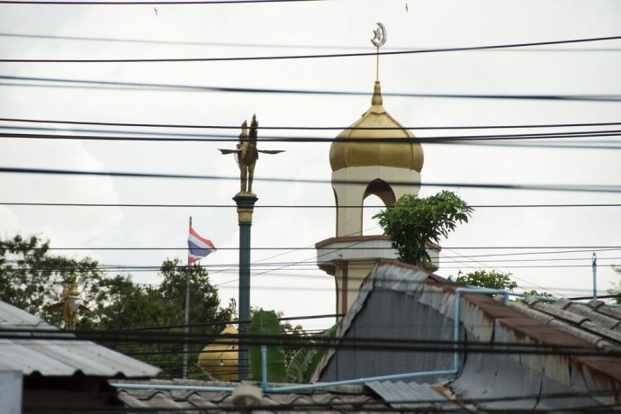 Thailand: Mosque in Thailand. Photo by Ellyn Schellenberg. More Info