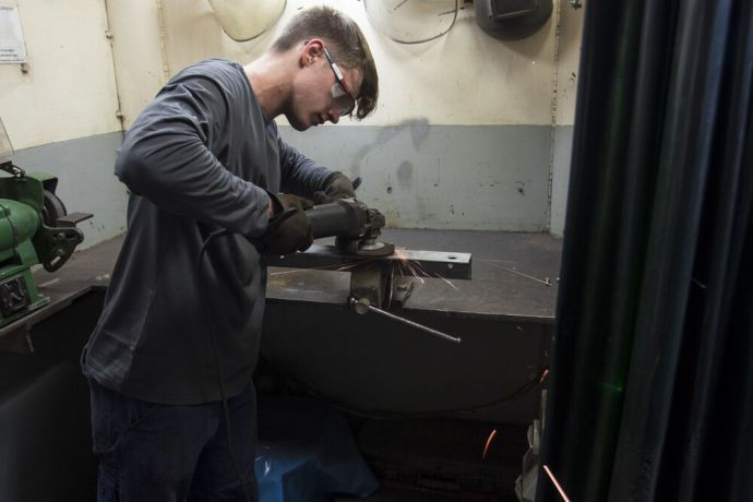 Ships: Peter Carrigan (UK) is using his university placement to serve in the engine room on board Logos Hope. More Info