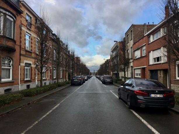 Belgium: An empty street in Zaventem, Belgium. Photo by Michelle Veliz. More Info