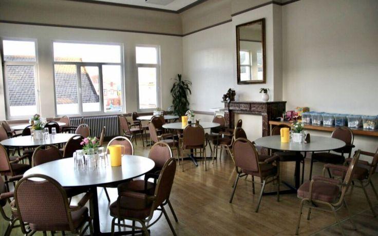 Belgium: ZavCentres dining room at OM in Belgium. More Info