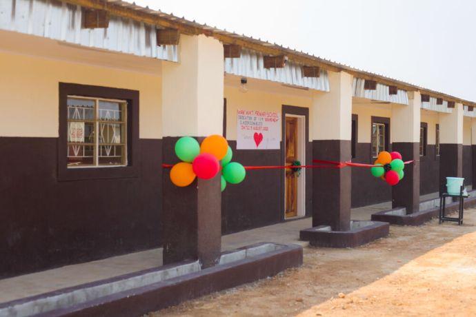 Zambia: Balloons at Makwati School in Kabwe, Zambia. More Info