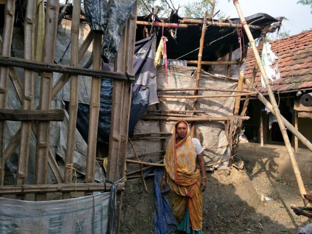 India: People in North India impacted by Cyclone Amphan this year. More Info