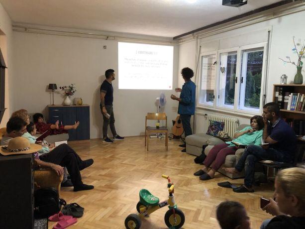Bosnia & Hercegovina: Sharing Christ's love with refugees at Open House in Bihać, Bosnia and Herzegovina. More Info