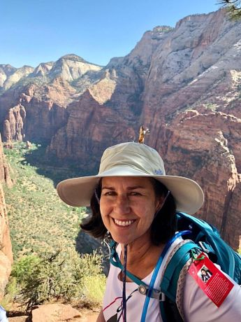 United States: Laura Wagner participated in a Freedom Challenge USA hike in Utah in 2018. More Info