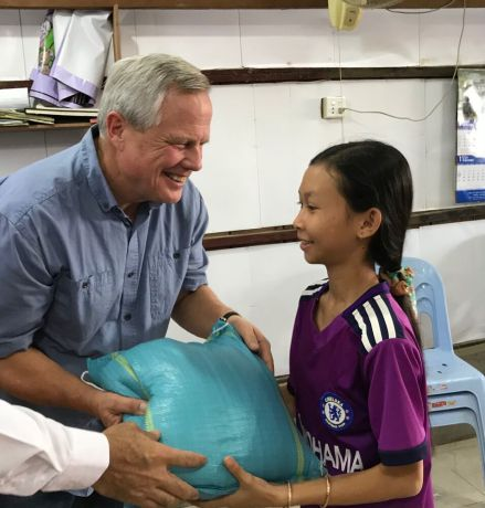 United States: Rob Corley and his wife co-founded a non-profit in Cambodia that cares for orphans and widows. Photo provided by Rob Corley. More Info