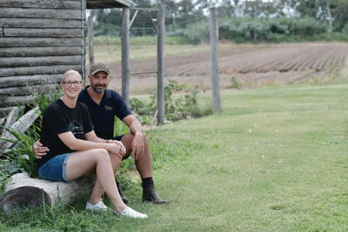 Australia: Carrot farmers Mick and Tracey Rieck from Australia fundraise for OM's anti-human trafficking project in Cambodia. Photo by Hadley Toweel. More Info