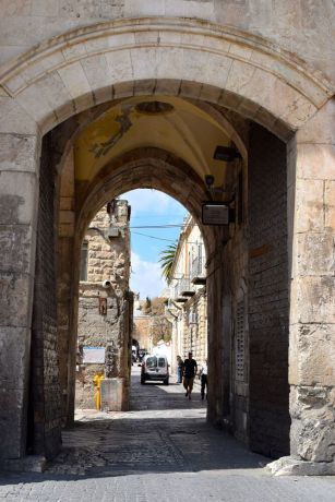 Israel: Walking the ancient streets of Jerusalem. Photo by Kate Toretti. More Info