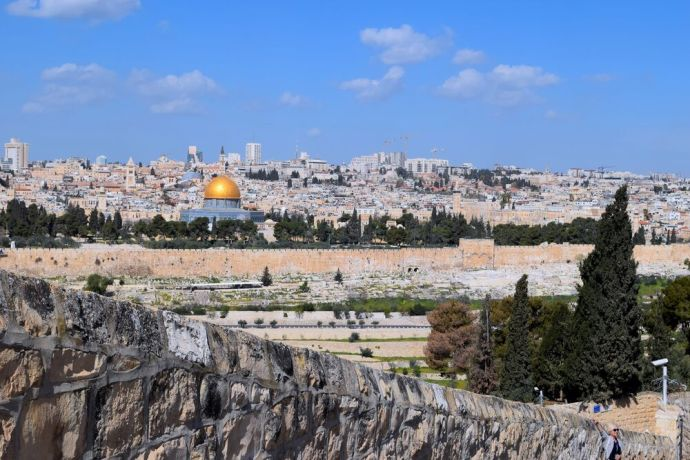 Israel: View of Jerusalem from the Mount of Olives. Photo by Kate Toretti. More Info