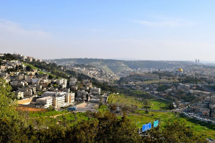 Israel: View of Jerusalem from Mount Scopus. Photo by Kate Toretti. More Info