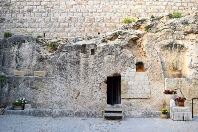 Israel: The Garden Tomb in Jerusalem, one of the possible places believed to be where Jesus was resurrected. Photo by Kate Toretti. More Info