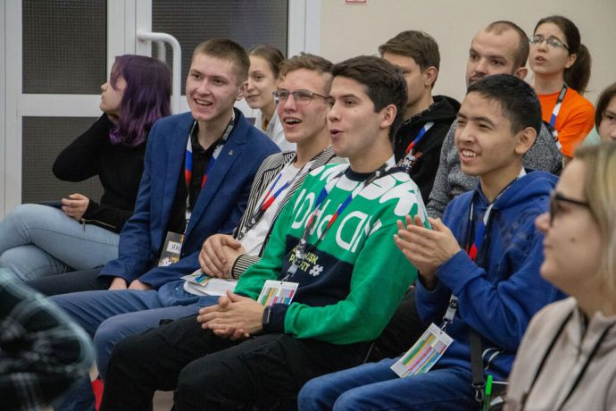 Russia: Young men having fun at the first ever TeenStreet conference held in Russia at the beginning of 2021. More Info