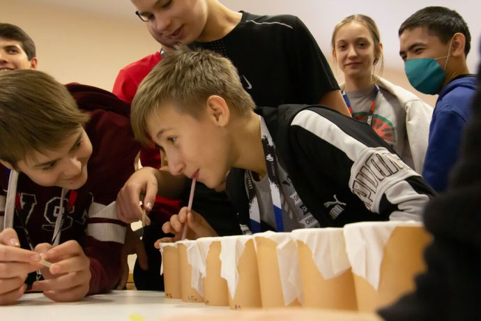 Russia: Young people having fun at the first ever TeenStreet conference held in Russia at the beginning of 2021. More Info