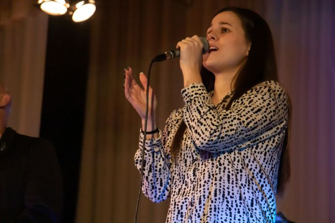 Russia: Woman singing at the first ever TeenStreet conference held in Russia at the beginning of 2021. More Info