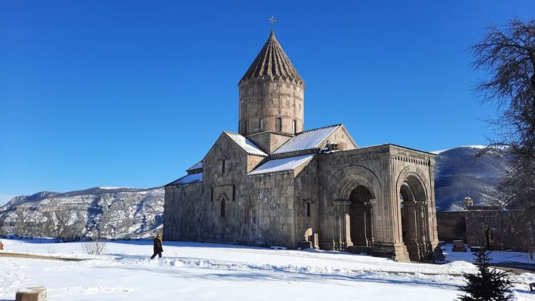 Armenia: A monastery in Armenia, a country with a rich Christian heritage reaching back to the 1st century AD. Photo provided by OM International Disaster Response. More Info