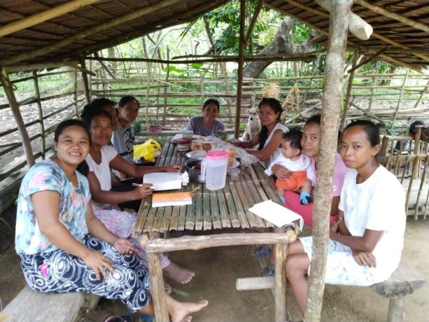 Philippines: An OM worker partners with a local pastors wife to disciple tribal women. The women in the group were given their own Bibles and appreciate studying Gods word on Saturday mornings together. Some of the women travel long distances or even have to cross a river, which can seasonally flood, in order to attend. More Info