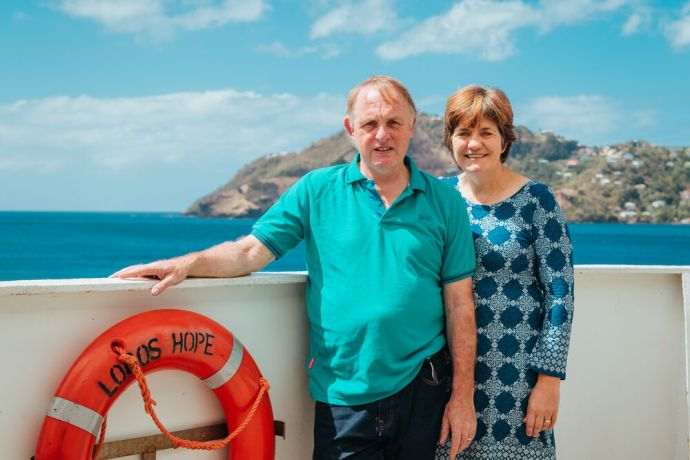 Saint Vincent & the Grenadines: Kingstown, Saint Vincent and the Grenadines :: David and Jan Arrowsmith (UK) are developing an adult education resource. More Info