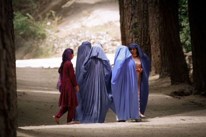 """Afghanistan: """"I think it is Jesus compassion that speaks so powerfully to women, says an OM worker about the women she ministers to in Afghanistan. And they want to hear that Jesus loves them."""" More Info"""