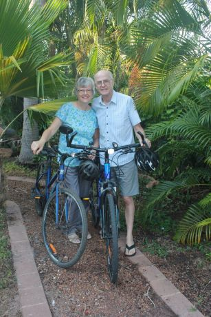 """Australia: In their mid-sixties, Kiwis Pam and Alan retired. Sort of. """"You don't retire and suddenly that's it,"""" Alan explained. """"You just continue on involved in the Kingdom but with some changes."""" Photo submitted by the Uttings. More Info"""