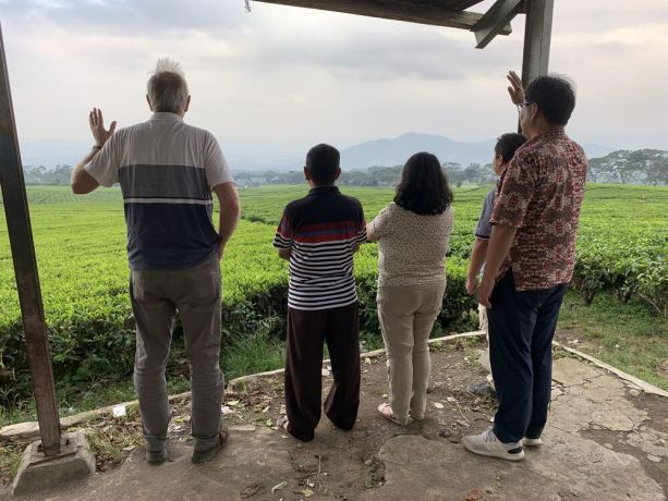 South East Asia: Team from Australia together with the Indonesian team, praying together for a city in South Sumatera (Sumatra). More Info
