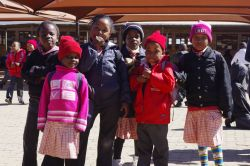 Vuka Uzenzele Primary School, where AIDSHope team presents CrossRoads life skills lessons to grade seven students.