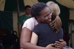 Mission Discipleship Training - a hug