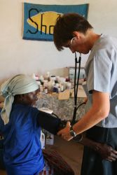 An OM nurse serves in Siabuwa, Zimbabwe.