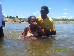 Many people from the Bekily community in Madagascar came to Christ and were baptised during the OM outreach some time ago.