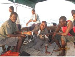 OM Lake Tanganyika recently hosted a two-week discipleship training for inhabitants of villages along the shores.