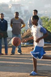 Sports is a practical discipleship tool in Madagascar, and a way to build relationships with the youth.