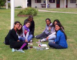 TeenStreet Uruguay 2012 - girls net group