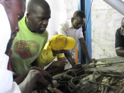 A one day training course in car mechanics equip people to save money and help friends with cars.