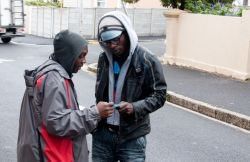 Reaching out to the Muslim community in Woodstck, Cape Town