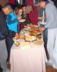 Having a meal together helps breaking the ice, and talk about questions concerning the Christian faith. OM Montenegro held a weekly program during 4 weeks where local friends were invited to hear and talk about God, and to have fellowship.