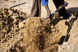 Construction begins for permanent Makwati School and Church buildings.  What began as a dream two years ago is starting to become reality.