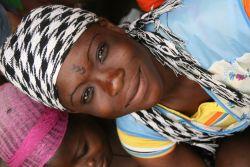 Ghanian woman.
