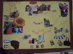 Poster made by school children in Zimbabwe to show how they can be involved in missions