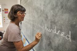 Val Watt heads the Teachers Training Course for OM Zambia.