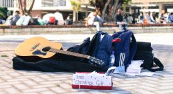 Street Ministry with free music