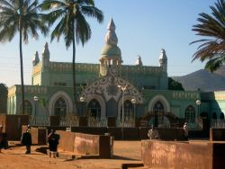 A mosque in the town of Chipata, Zambia