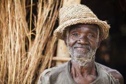 An elderly man from a village near the OM Malawi base.