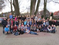 The first Teens in Mission event in Hardenberg, Netherlands.