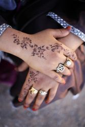 Henna is beautiful in North Africa.  